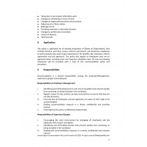 Human Rights Accommodation Policy & Procedures