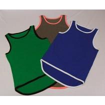 TB Singlets Blue, Brown, Green