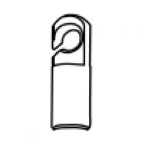 Longhorn Solid Gut Hook - H49-101