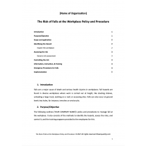 Hazardous Manual Tasks Policy and Procedures