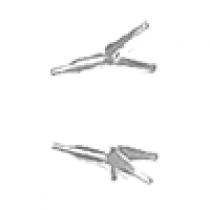 Supershear Viper Yokes, Fork LH & RH Set - SH80572D