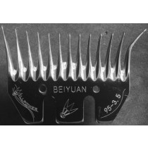 Will Power Medium Bevel Combs