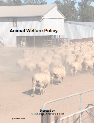 Animal Welfare Policy